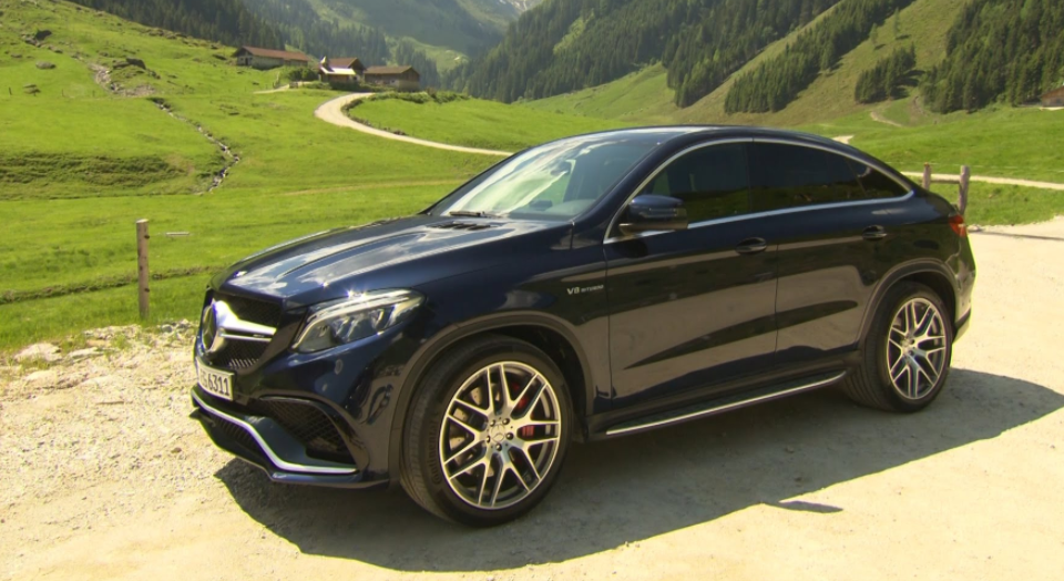 Fascination Luxe et Grace: Mercedes-Benz GLE 350d