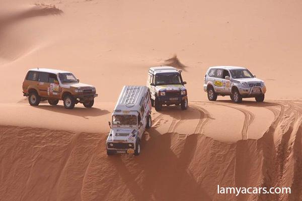 Rallye Aicha des Gazelles du 16  au 31 Mars